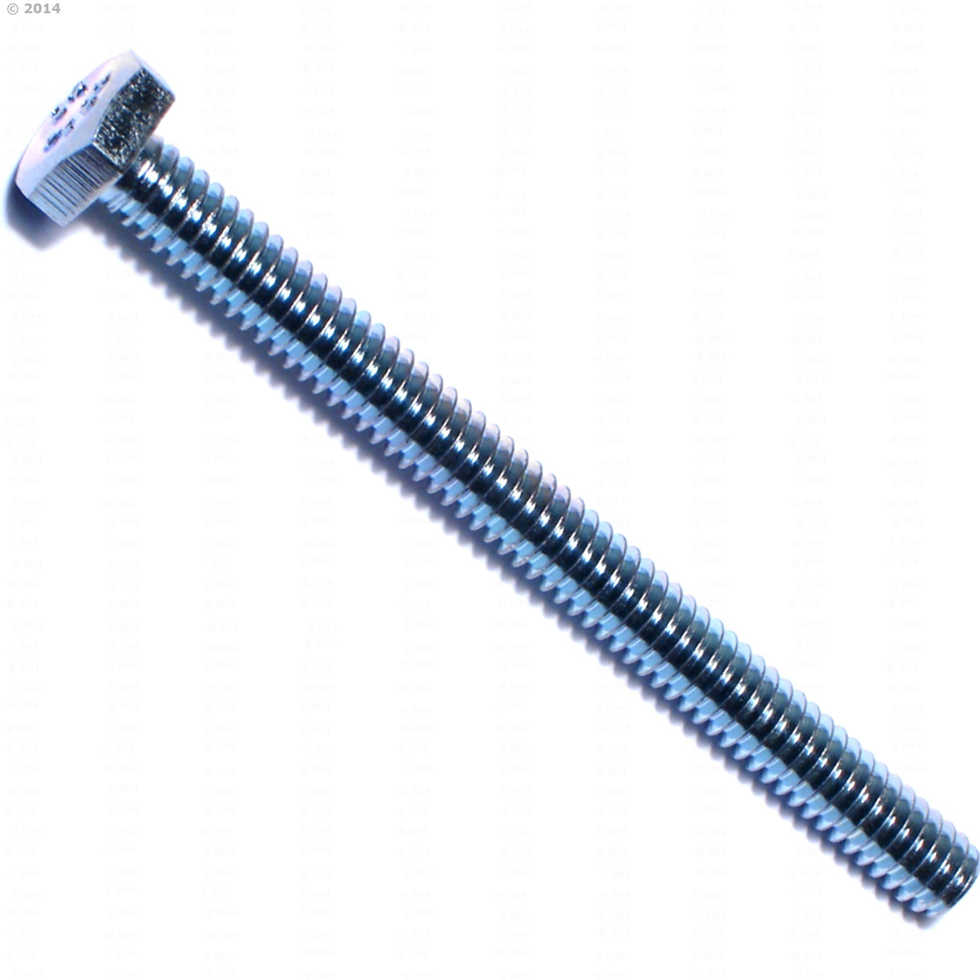 Hard-to-Find Fastener 014973243890 Full Thread Hex Tap Bolts, 1/4-20 x 3, Piece-100