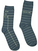 Out of Print Unisex Library Card Socks