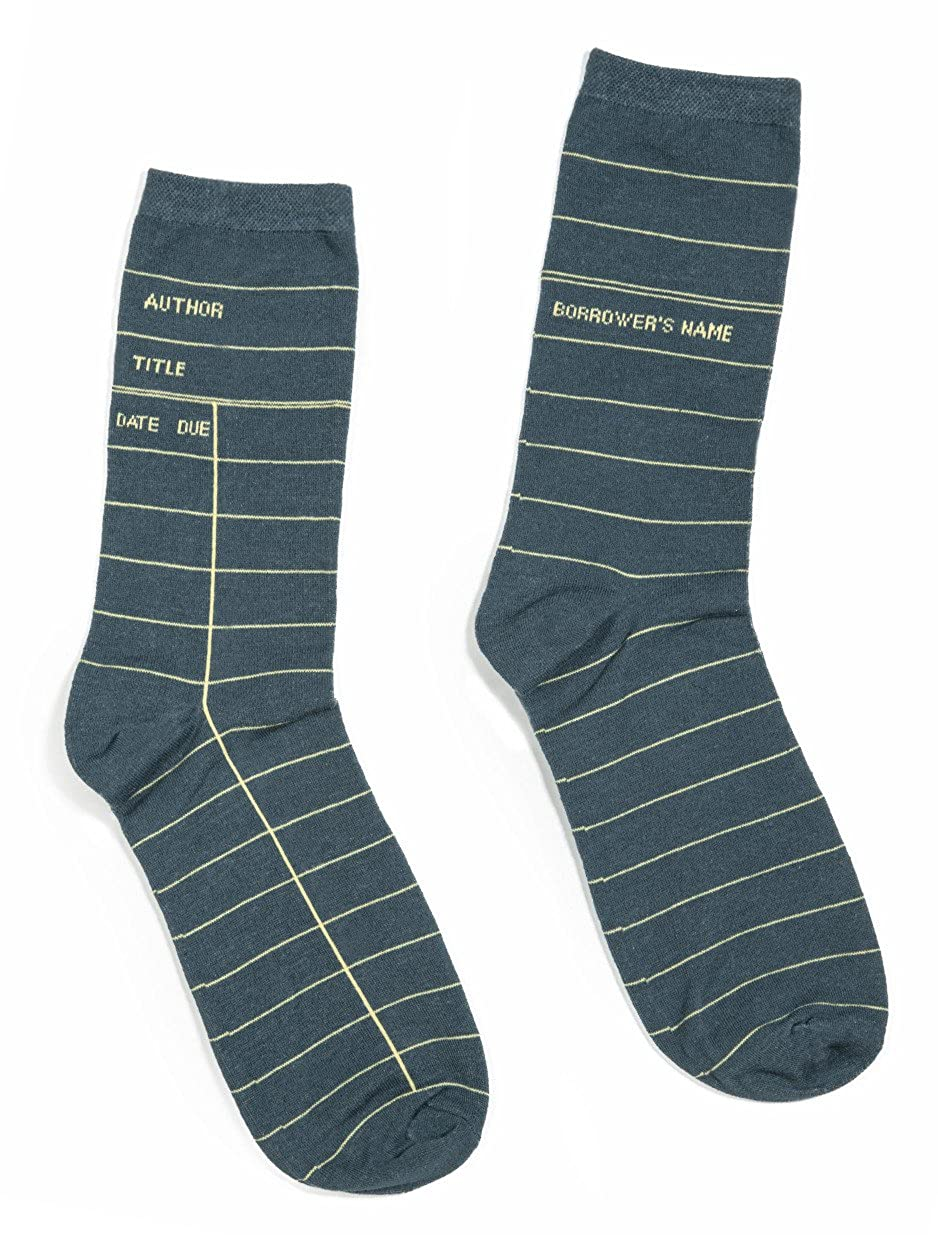Out of Print Unisex Library Card Socks SOCKS-1004