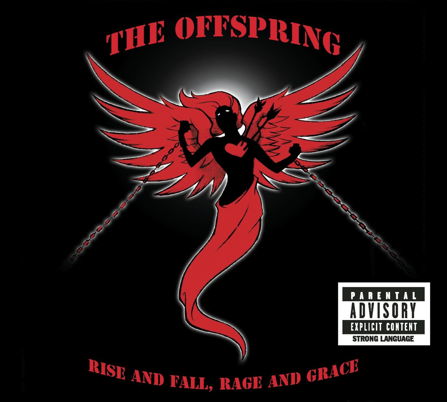 Rage /& Grace Hoodie Womens The Offspring Rise /& Fall
