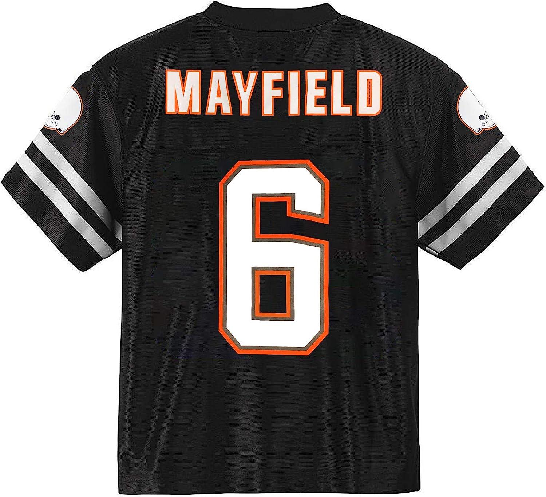 Baker Mayfield Cleveland Browns Blackout Youth Alternate Player Jersey