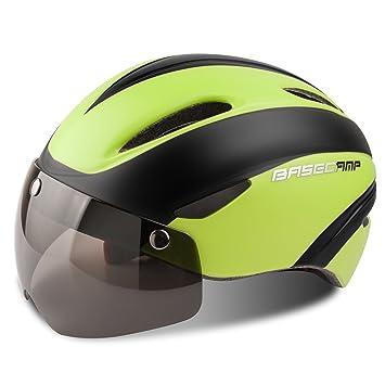 Casco Bicicleta con LED, Kinglead Protección de Seguridad Ajustable Casco de Bicicleta Ligera para Montar