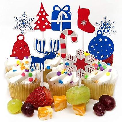 fun holiday 200 christmas party supplies christmas decorations 160 christmas cupcake toppers christmas picks