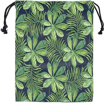 Tropical Leaves Gymnast Birthday Goody Bag Gymnastics Leotard Grip Bags