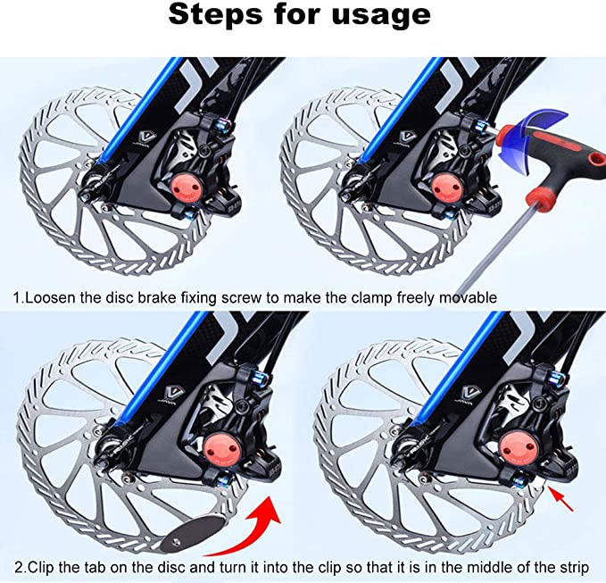 1PC Bicycle Disc Brake Pad Adjusting Tool Mounting Assistant Brake Pad Repair-SL