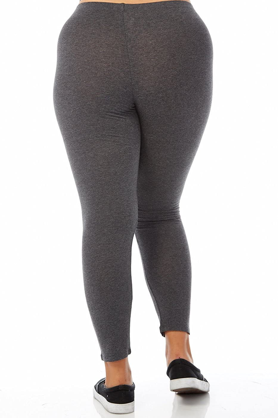 e12eb52fcf2 Amazon.com  Bozzolo Plus Size Long Leggings (3xl