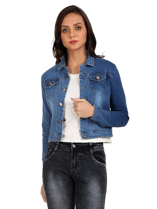 Broadstar Women Denim Jacket Women's Jackets