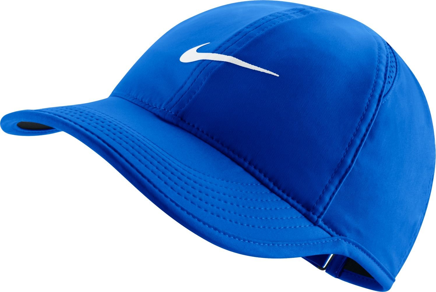 Nike Womens Featherlight Dri-Fit Hat Hyper Cobalt Blue/White