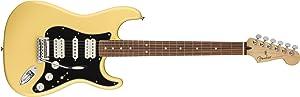 Fender Player Stratocaster HSH Electric Guitar - Pau Ferro - Buttercream