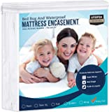 Utopia Bedding Zippered Mattress Encasement - Waterproof Mattress Protector (California King)