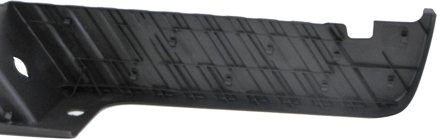 Black Perfect Fit Group REPF764908 F-Series Super Duty Rear Bumper Step Pad W//O Rear Object Sensor Hole