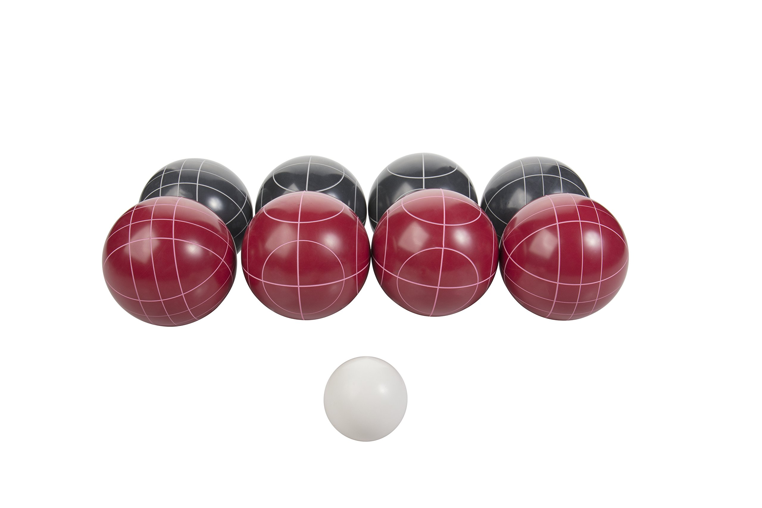 Triumph Competition 100mm Resin Bocce Ball Outdoor Game Set with Carrying Bag for Easy Storage by Triumph Sports