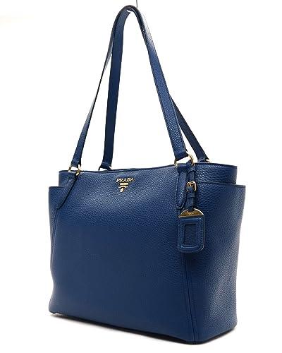 4c6b239fa8c4 ... coupon code for prada womens blue vit. daino shopping tote 1bg970 c4ad1  7310a
