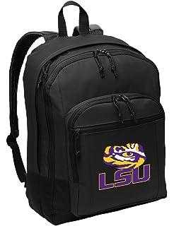 Broad Bay Best LSU Tigers Backpack Laptop Computer Bag