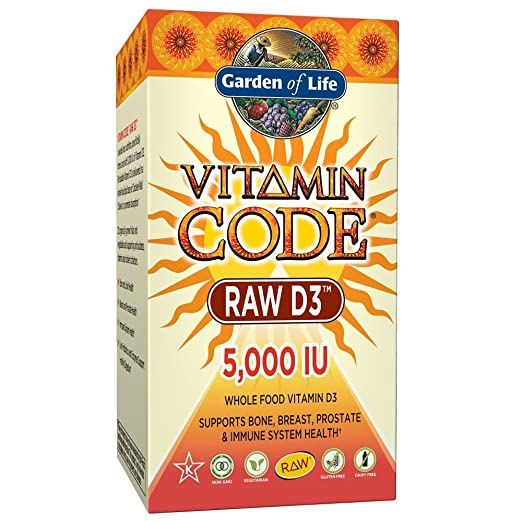 Amazon.com: Garden of Life D3 – suplemento de vitamina D3 ...
