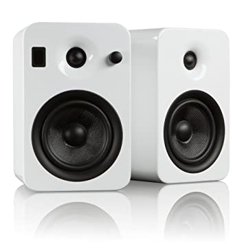 white bluetooth large speakers matte size w kanto powered bookshelf products