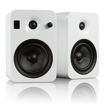 wireless product powered speakers speaker bluetooth bookshelf swan