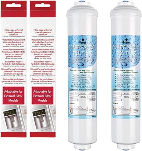 Spares2go DD-7098 BL-9808 tipo filtros de agua para AEG Electrolux ...