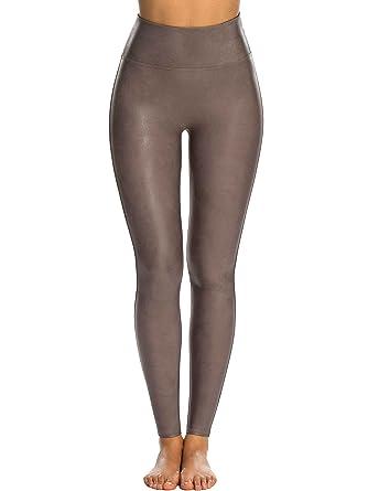 e6c8b5440c70b6 Spanx Leggings Shaping Kunst-Leder Leggings Damen  Amazon.de  Bekleidung