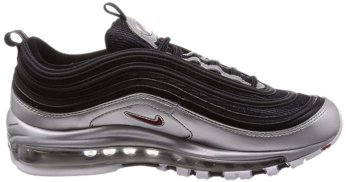 12c4bf2659 Amazon.com | Nike Men's Air Max 97 QS, Black/Varsity RED | Running