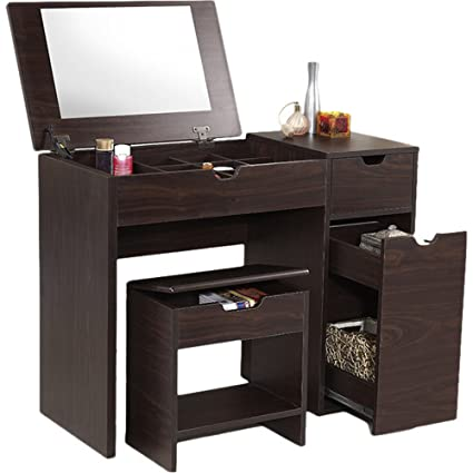 Amazon.com: Modern Vanity Set - Plenty of Storage Space ...