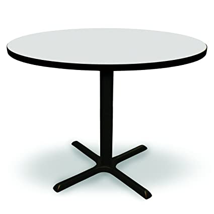 Amazoncom Round Conference Break Room Tall Table Café - Conference room table height