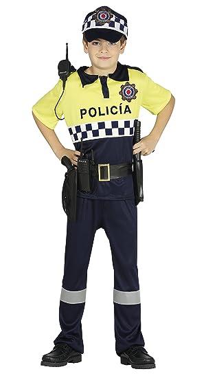 Guirca- Disfraz 3-4 años Policía, u (87507.0): Amazon.es: Juguetes ...