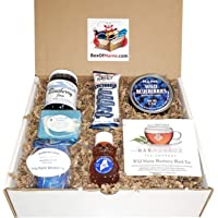 Wild Maine Blueberry Sampler Gift Pack - 7 Count - Maine Made - Great for Holidays & Birthdays