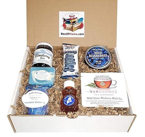 Wild Maine Blueberry Sampler Pack de regalo – 7 Count ...