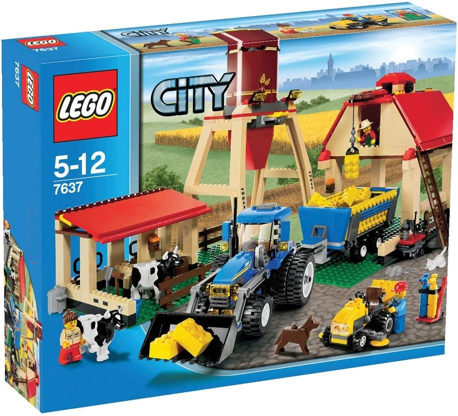 Amazon Com Lego City Set 7637 Farm Toys Games