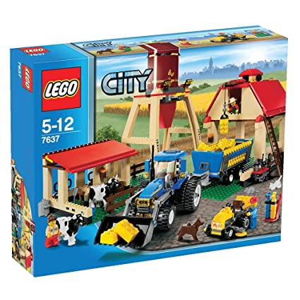Amazon Lego City Set 7637 Farm Toys Games