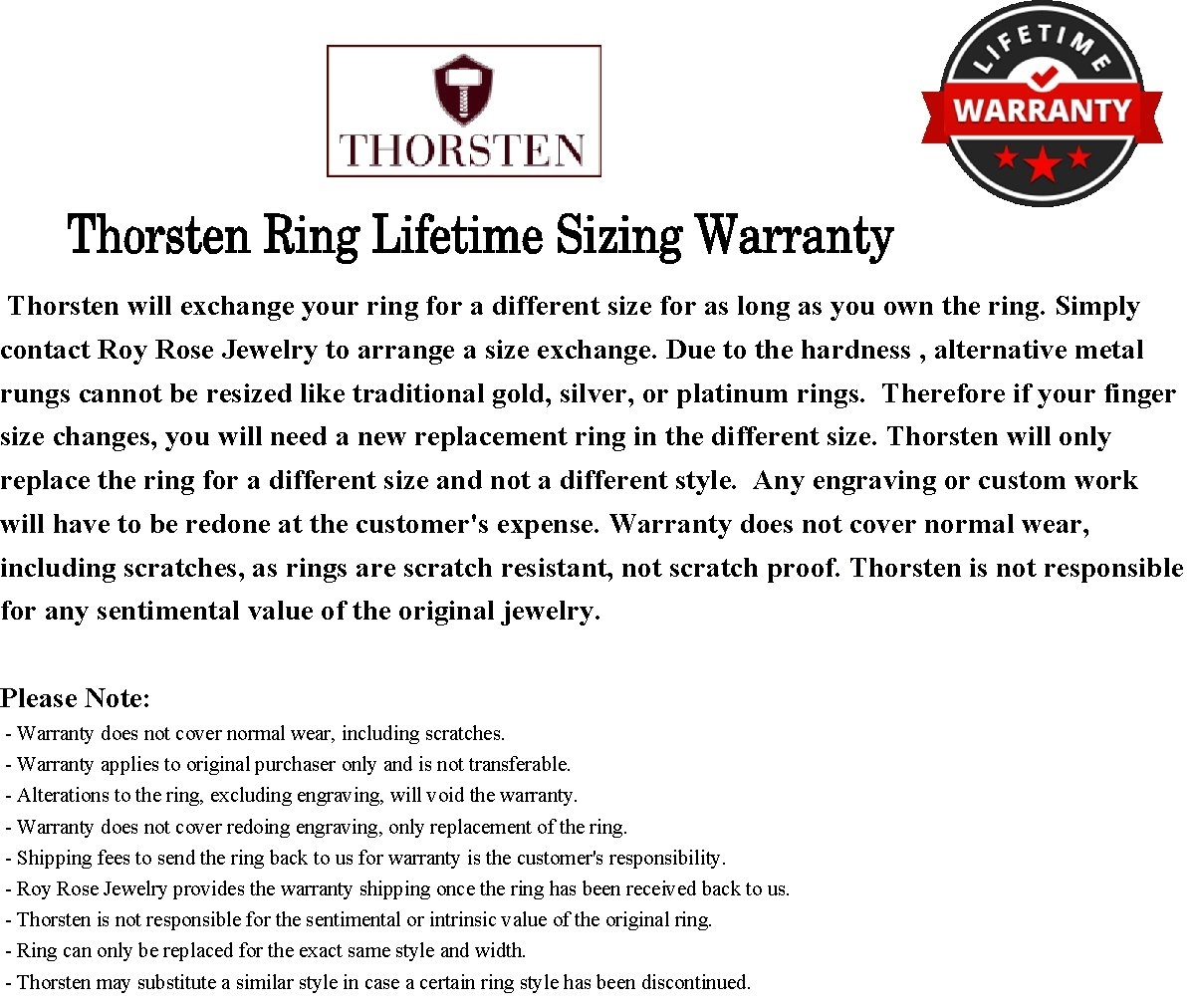 Thorsten Maximus Tungsten Carbide Wedding Band Ring with High Tech Black Carbon Fiber Inlay Polished Edges 8mm Width from Roy Rose Jewelry Size 9 by Thorsten