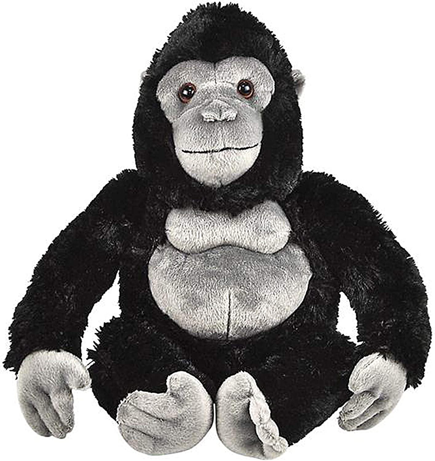 Wildlife Tree 11 and 5.5 Inch Stuffed Gorilla Mom and Baby Plush Floppy Zoo Animal Family Collection