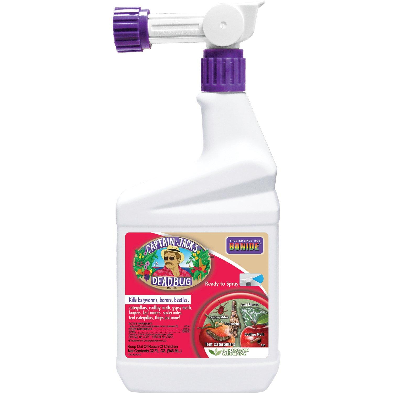 Bonide Chemical Dead Bug Brew RTS with Hose End Sprayer 32 FL Oz