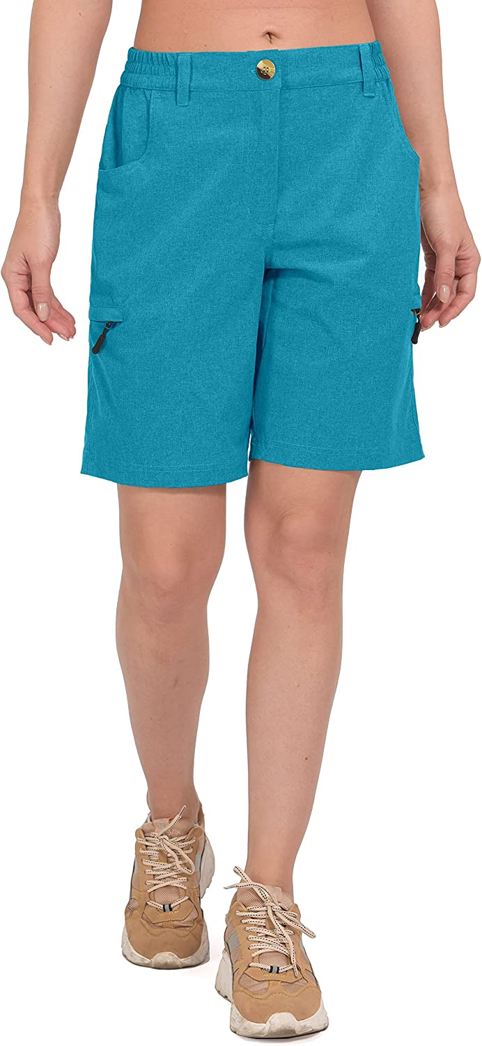 Little Donkey Andy Daily bargain sale Women's 9 Inches Dry Stretch Quick Classic Sho Inseam