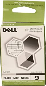 Genuine Dell #9 Black (MK990) 926/V305/V305W Per Unit [Office Product]