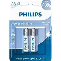 Pilha Philips alcalina AA 1.5V