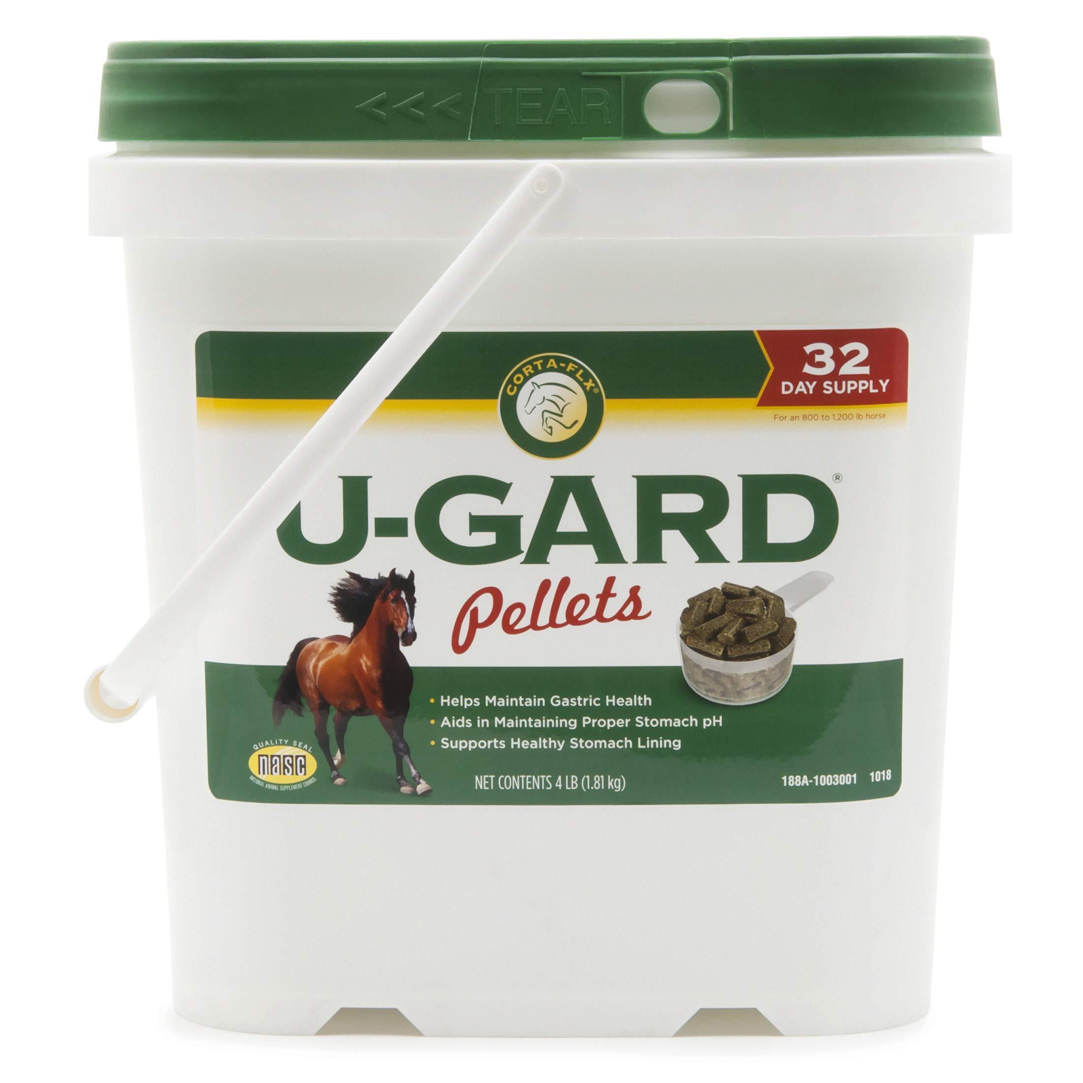 Corta-Flx U-Gard Pellets 4 lb Equine Stomach Supplement by Corta-Flx