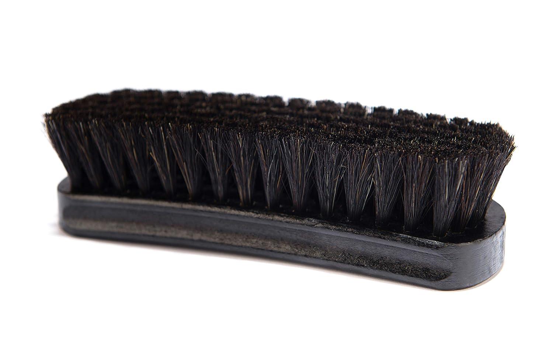 Quality Wooden Handle Leather Shoes Boots Wren/'s Shoe Shine Polishing Brush Quality Horsehair Premium Buff Shine