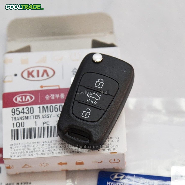 Keyless Entry Remote Control Folding Key 954301M060 Fit: KIA Forte Koup 2009 2010