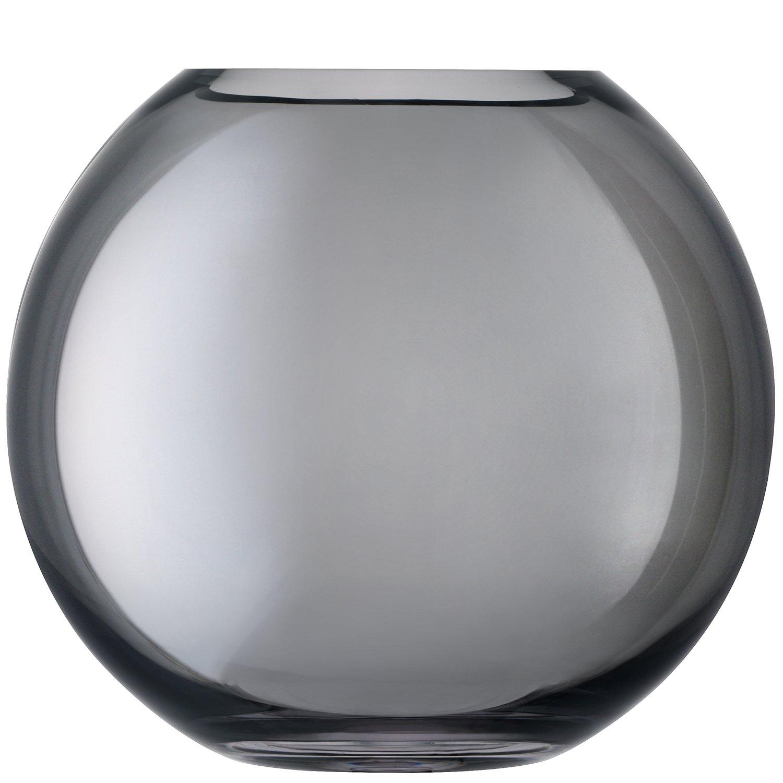 LSA International Polka 24 Vase 24 Polka cm grau d3a57b