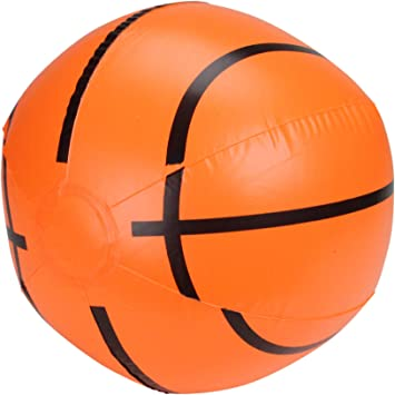 Amazon.com: Pelota de baloncesto de playa hinchable de 16 ...