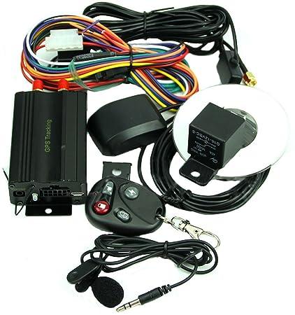 Amazon.com: TK103B Spy SMS en tiempo real de coche/GPS/GSM ...