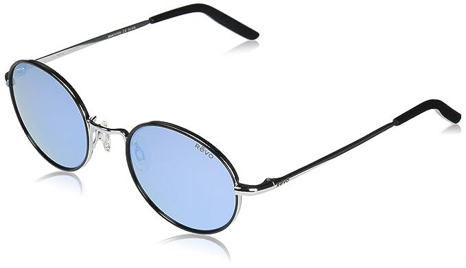 cb7e0eae85 Revo Unisex RE 1060 Brayton Round Polarized UV Protection Sunglasses