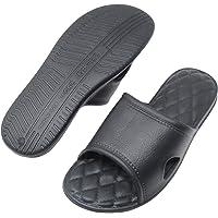 Shower Sandal Slippers Summer Household Women and Men Slippers Casual Anti-Slip Bathroom Sandals Indoor Couple Slippers Slides