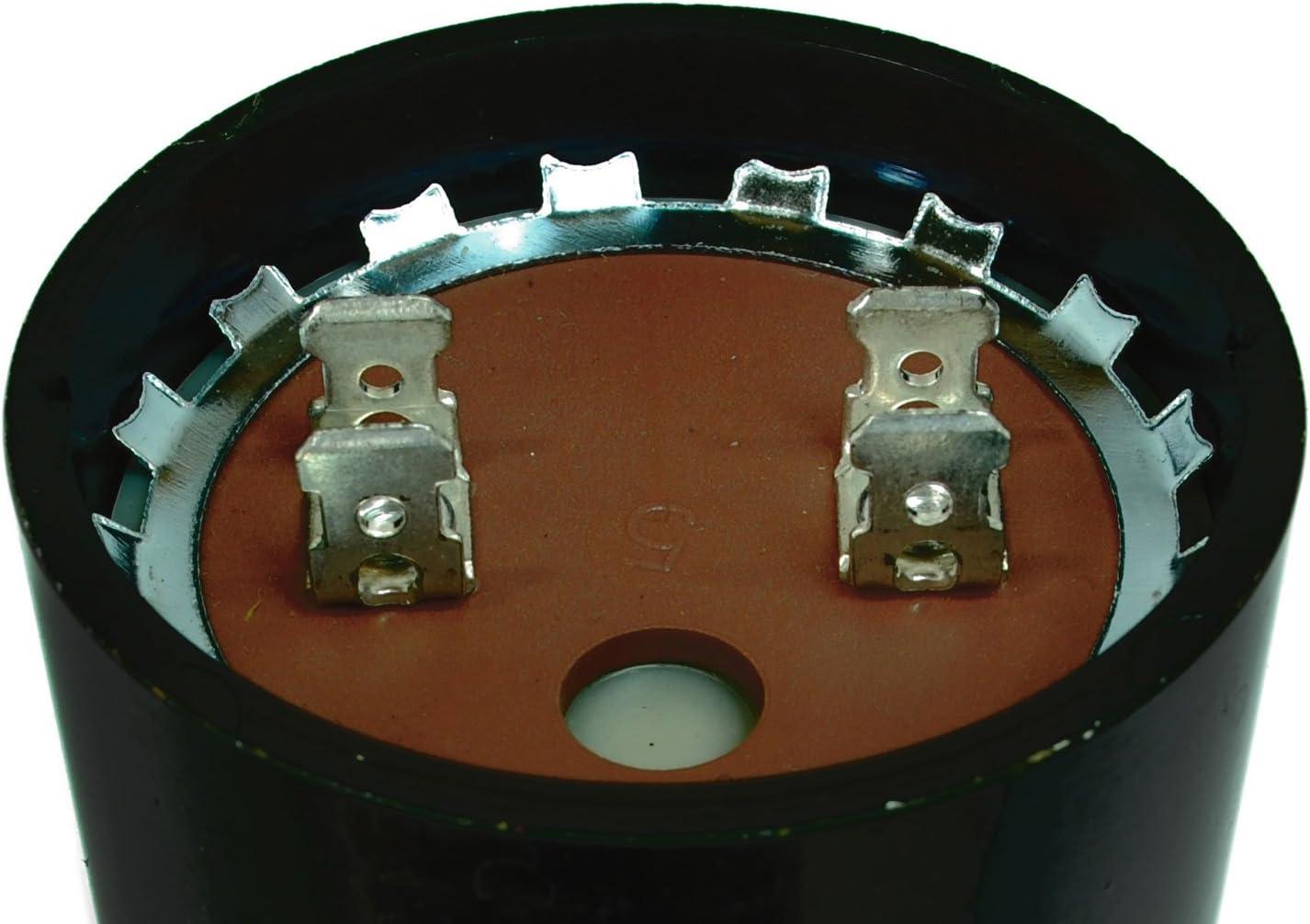TEMCo Motor Start Capacitor SC0083-340-408 mfd 220-250 V VAC Volt uf Round HVAC AC Electric