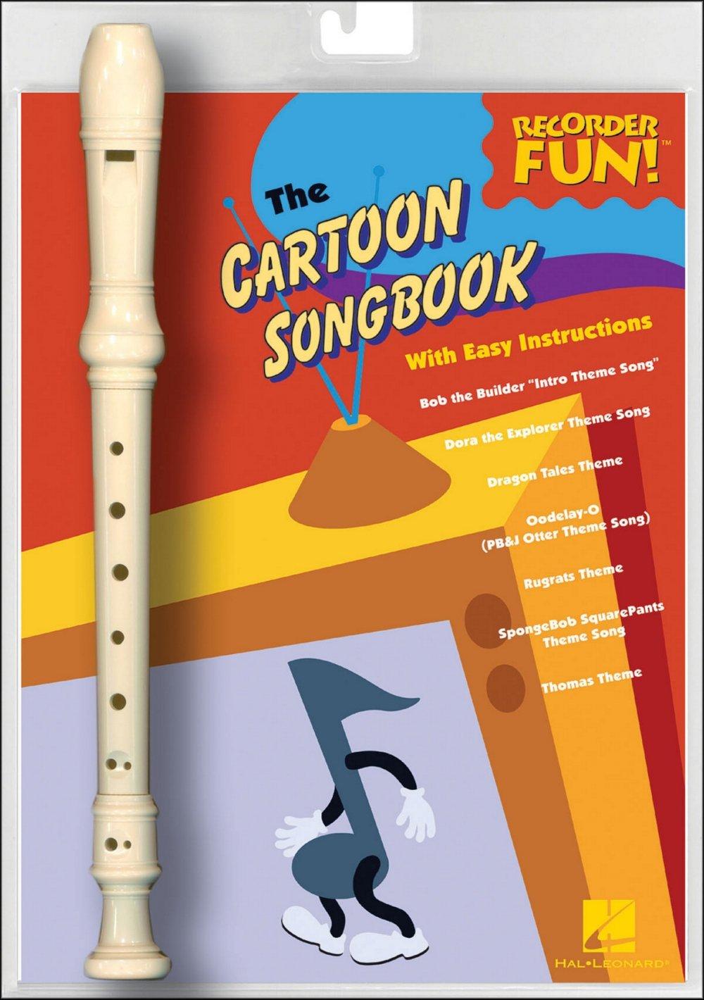 Amazon com: Hal Leonard The Cartoon Songbook - Recorder Fun