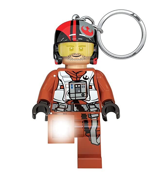 LEGO Star Wars: The Last Jedi - Poe Dameron LED Key Chain Flashlight