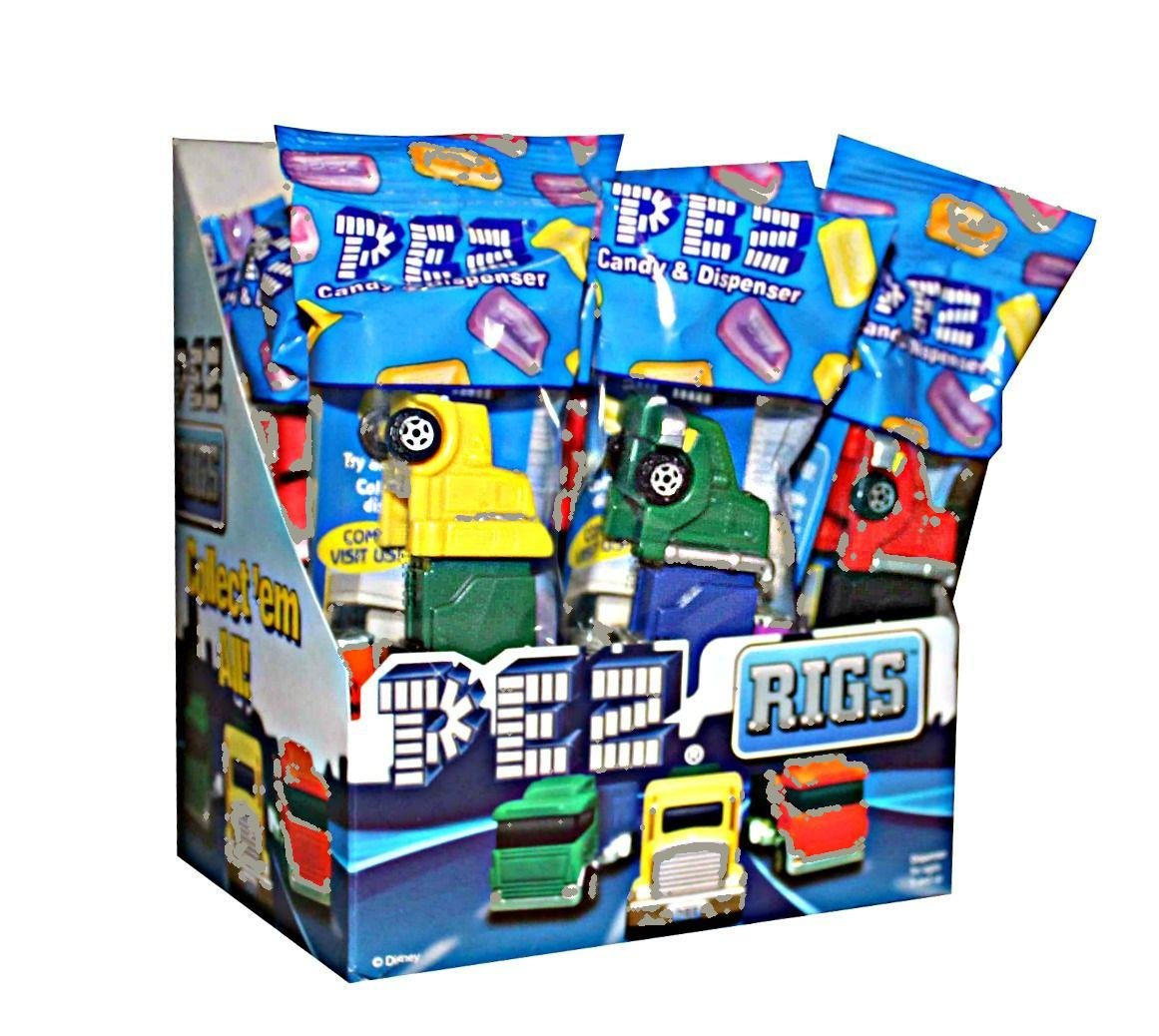 Pez Truck Rigs Candy Dispensers (Pack of 12) by PEZ Candy