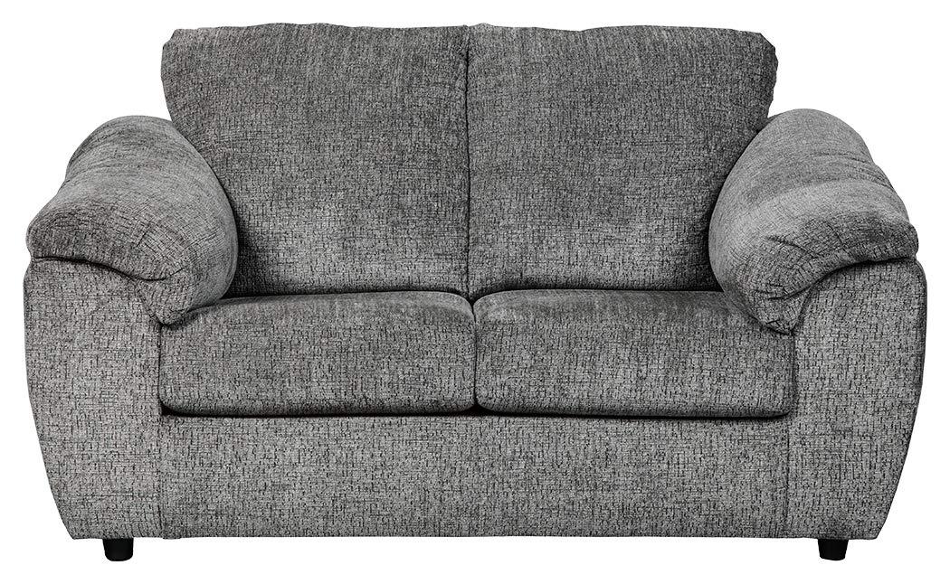 Ashley Furniture Signature Design - Azaline Contemporary Upholstered Loveseat - Slate Grey by Signature Design by Ashley